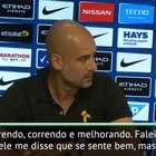 """Guardiola: """"Danilo está melhorando"""""""