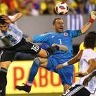 Goleiros brilham em jogo sem gols entre Colômbia e Argentina