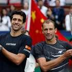 Em final brasileira, Melo e Kubot são campeões em Xangai
