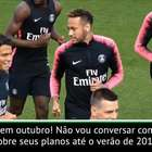 """PSG: Neymar sai ou não sai?: Tuchel - """"Neymar é nosso ..."""