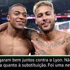 """PSG: Tuchel: """"Cavani não gostou da substituição, mas ..."""
