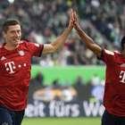 Lewandowski brilha e Bayern vence; Borussia goleia Stuttgart