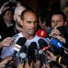 """""""Um soldado e um cabo"""" fecham o STF, diz filho de Bolsonaro"""
