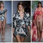 Com Laura Neiva, PatBo traz moda inspirada em Carmen Miranda