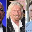 Elon Musk, Jeff Bezos, Richard Branson: os ...