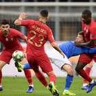 Empate elimina Itália e Portugal avança na Liga das Nações