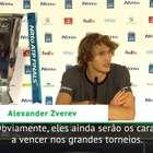 """ATP Finals: Zverev: """"Djokovic e Federer ainda são os ..."""
