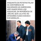 #Verificamos: Foto de Lula diante de Chávez foi adulterada