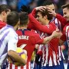 VAR ajuda, Griezmann faz dois e Atleti vence Valladolid