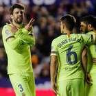 Barça goleia Levante e segue tranquilo na liderança