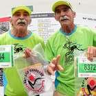 Aos 66 anos, gêmeos declaram amor à São Silvestre: 'Arrepia'