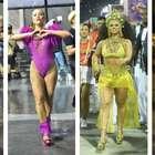 Sato e mais famosas brilham nos ensaios das escolas de samba