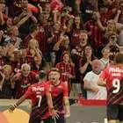 Athletico goleia e vence a primeira na Libertadores