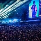 Kendrick Lamar se emociona durante primeiro show no Brasil