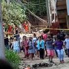 Corpos de 2 crianças são encontrados sob escombros na Muzema