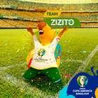 """""""Zizito"""" é escolhido como nome da mascote da Copa América"""