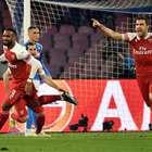 Arsenal vence Napoli fora de casa, e garante vaga na ...