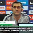 """UEFA Champions League: Valverde: """"Guardiola é o melhor"""""""
