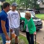 Idosa de 90 anos é salva em incêndio por quatro adolescentes