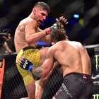 Brasileiro deixa nariz de rival desfigurado em luta do UFC