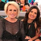 Fátima Bernardes e Ana Maria Braga chamam atenção com brilho