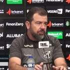 """CEARÁ: Enderson Moreira sobre Luiz Otávio: """"Só vai para ..."""
