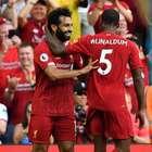 Liverpool vence Arsenal e segue líder na Inglaterra