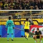Reus perde pênalti e Borussia empata com o Barcelona em casa