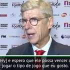 """EXCLUSIVO: Futebol: Wenger: """"Não estou aqui para julgar ..."""