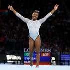 Biles leva 5º título mundial individual geral na ginástica