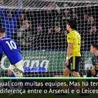 """Emery: """"Man United e Tottenham estão atrás do Arsenal"""""""