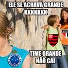 Cruzeiro é rebaixado e memes bombam nas redes sociais