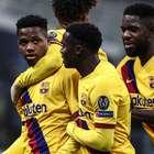 Ansu Fati mostra que tem estrela no Barça e escreve ...