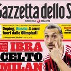 """Jornal italiano crava destino de Ibrahimovic: """"Já escolheu"""""""