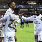 Rodrygo e Vinicius Jr. marcam e Real bate o Brugge