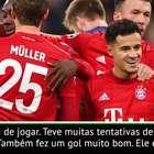 """Bundesliga: Flick sobre Coutinho: """"Tem muita qualidade e ..."""
