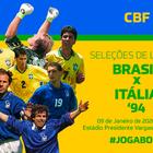 CBF anuncia jogo festivo entre as seleções de Brasil e ...