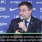 "La Liga: Bartomeu: ""Valverde estava ciente dos problemas ..."