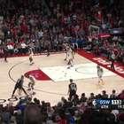 NBA: Portland Trail Blazers 129-124 Golden State Warriors