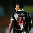 Germán Cano comemora primeiro gol pelo Vasco e pede calma