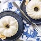 Minipudim de Tapioca e Iogurte GREGO com Pedaços de Abacaxi