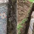 Arqueólogos descobrem mosaico de antiga vila romana na ...