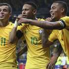 Os maiores artilheiros da seleção brasileira neste século