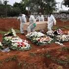 Brasil bate 1,5 milhão de casos e tem mais de 1.200 mortes