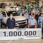 Chevrolet S10 chega a 1 milhão de unidades produzidas