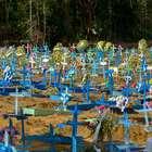 Brasil soma mais 858 mortes e ultrapassa marca de 135 mil