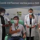 Infectologista é o 1º a receber vacina de Oxford no Brasil
