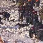 Rússia: investigadores procuram restos humanos após desastre