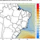 Alerta para mar agitado e ressaca no Sul e no Sudeste