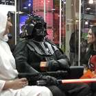 Darth Vader e Princesa Leia invadem estúdio do Terra na BGS